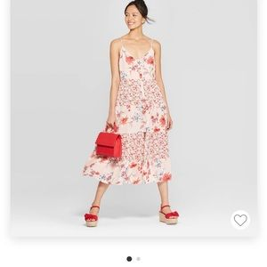 Never worn Xhilaration midi dress.